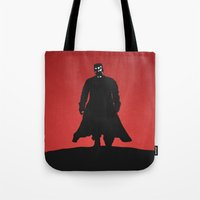 sin city Tote Bags featuring Sin City by Nick Kemp