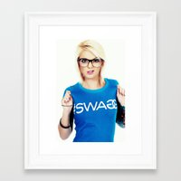 swag Framed Art Prints featuring Swag by Taylor Brynne-Model