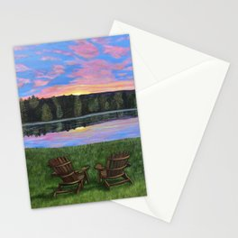 Facing Each New Day...Together Stationery Cards