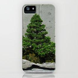 Basic Bonsai iPhone Case