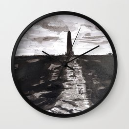 MONUMENT Wall Clock