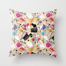 Paint It Throw Pillow