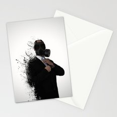 Dissolution of man Stationery Cards