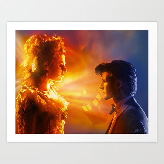 The Doctor's Wife Art Print