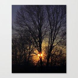 Sun Diamond 2 Canvas Print