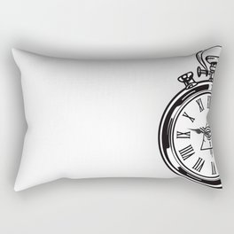 Time Waits For No One Rectangular Pillow