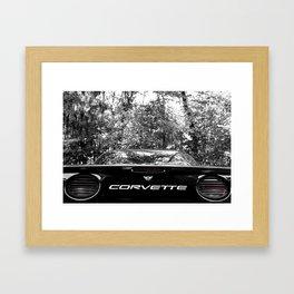 Corvette Framed Art Print