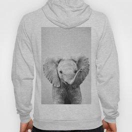 Baby Elephant - Black & White Hoody