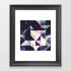 cylm pywyr Framed Art Print
