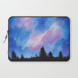 Night Sky, Acrylic Galaxy Art Laptop Sleeve
