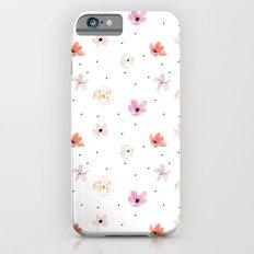 Poppy Rose iPhone 6s Slim Case