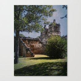 Mission Concepcion - San Antonio, Texas Canvas Print