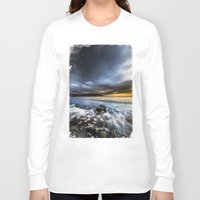 justice Long Sleeve T-shirts featuring Justice by HappyMelvin