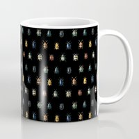 bugs Mugs featuring Bugs by Gasoline Rainbow