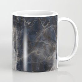 Grey Blue Web Coffee Mug