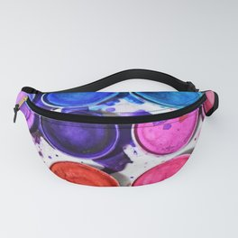 watercolor obsession I Fanny Pack