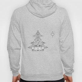 Snowflake Christmas Tree Hoody