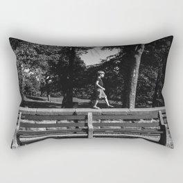 Park Slope Stroll Rectangular Pillow