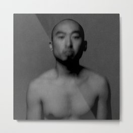 Hiro in Breath, 2007 Metal Print