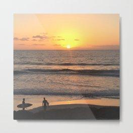 The Last Surf Metal Print