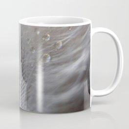 Water on feather Coffee Mug