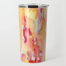 Dripping Watercolors Travel Mug