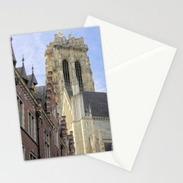 The mighty cathedral Stationery Cards