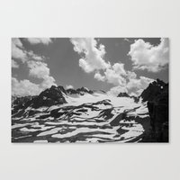blankets Canvas Prints featuring Blankets in the Desert by Michael Wytiahlowsky