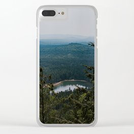 Echo Lake in The White Mountains Clear iPhone Case