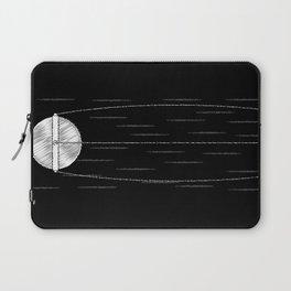 Sputnik Chalk Drawing Laptop Sleeve