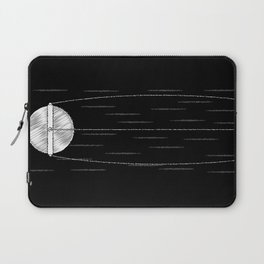 Sputnik Chalk Drawing Laptop Sleeve