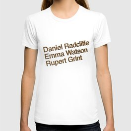Harry P cast T-shirt