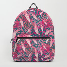 Flamingo Feather Flock Backpack
