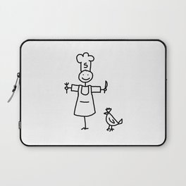 Scarecrow Chef Laptop Sleeve