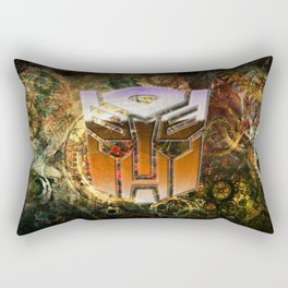 Steampunk Autobot Transform Rectangular Pillow