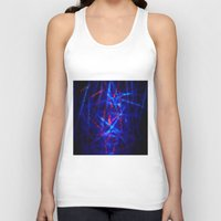northern lights Tank Tops featuring Northern Lights by Cs025