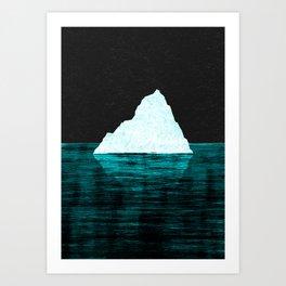 ICEBERG AHEAD! Art Print