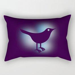 Old bird Rectangular Pillow