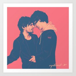 Larry #7 Art Print