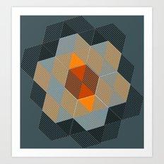 Tiling I Art Print