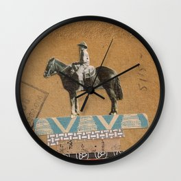 Higher Ground- Sam Wall Clock