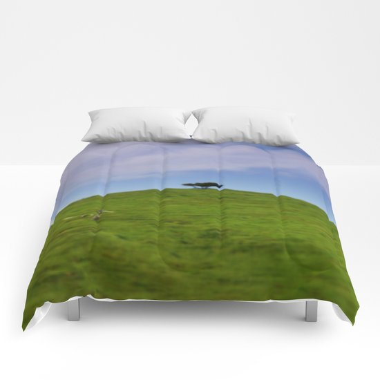On top of the World Comforters