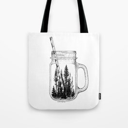 Forest Jar Tote Bag