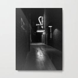 Back Alley Jazz Metal Print