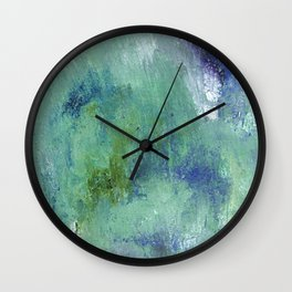 Hidden Depths Wall Clock