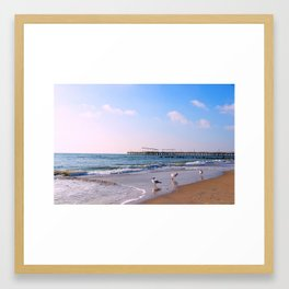 Coney Island New York Framed Art Print