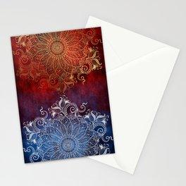 Mandala - Fire & Ice Stationery Cards