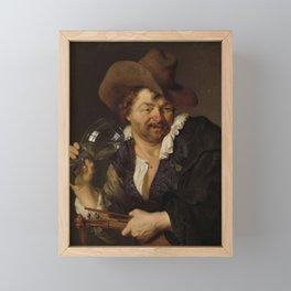Ary de Vois - The Merry Fiddler Framed Mini Art Print