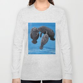 Manatees Long Sleeve T-shirt
