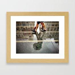 Dirty Rain Framed Art Print